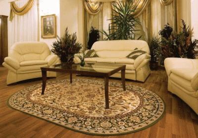 Как подобрать ковёр под мебель