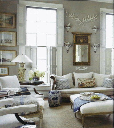 Оформляем комнату с двумя окнами