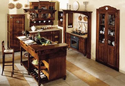 Итальянские кухни – символ аристократичности