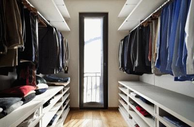 Как спланировать гардеробную?