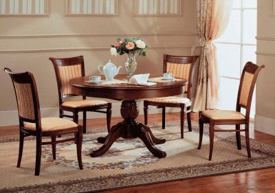 Столы и стулья как неотъемлемые элементы кухни