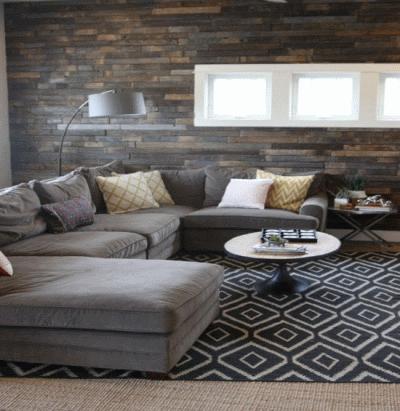 Гармония отделки стен древесиной и деревянной мебели