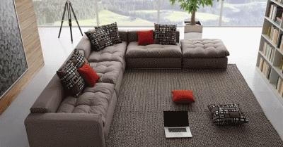 Делаем гостиный диван максимально уютным