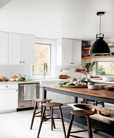 Использование индустриального стиля в кухне