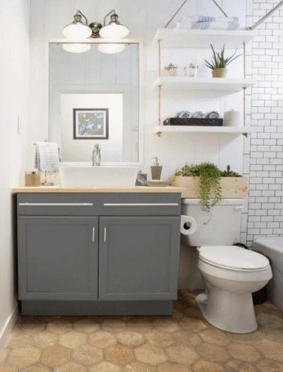 Обновляем интерьер ванной комнаты без дорогого ремонта
