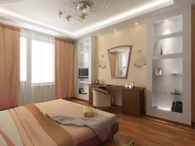 Интерьер спальной комнаты для доброго утра
