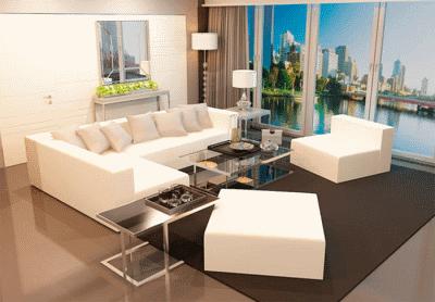 Занимаемся выбором мягкой мебели в маленькую гостиную