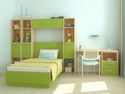 Подготавливаем комнату для юного школьника