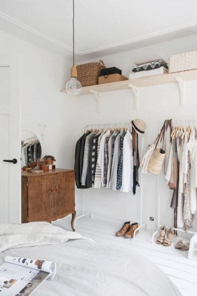 Нюансы открытой системы хранения одежды