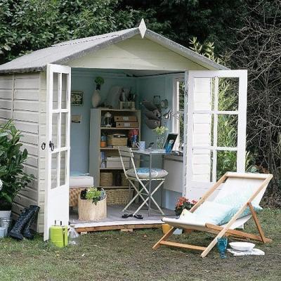 Обустраиваем летний офис на даче, в саду или на балконе