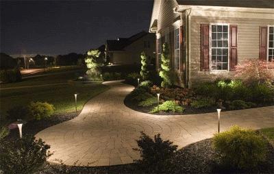 Обустройство загородного дома и дачи: как подобрать светильники для уличного освещения