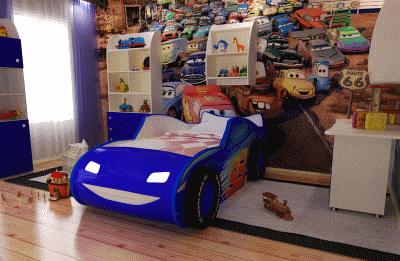Правила меблировки детской комнаты