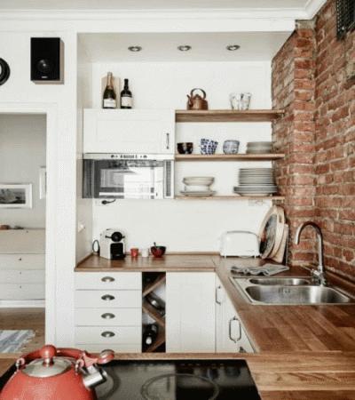 Полезные советы для обустройства маленькой кухни
