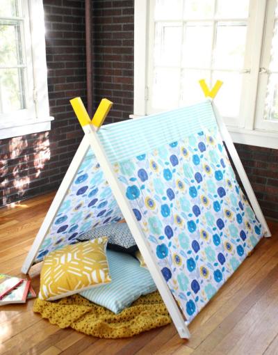 Детский игровой шатер своими руками