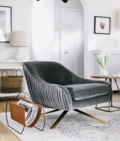 О бархатной обивке для мягкой мебели