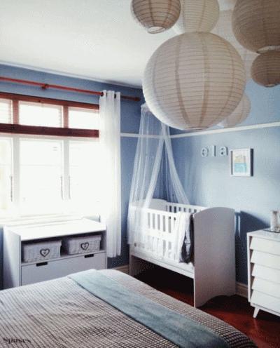 Организовываем место для малыша в спальне родителей