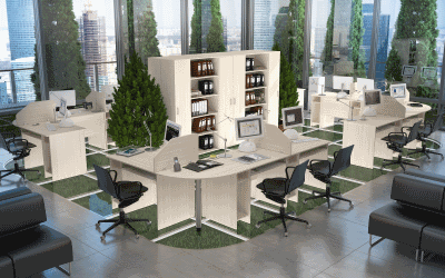 О выборе качественной офисной мебели для персонала