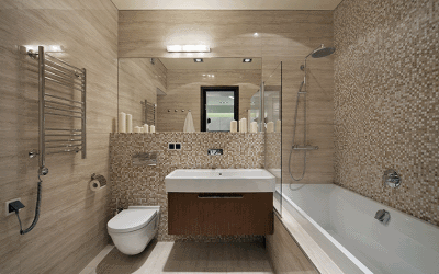 Успешный дизайн интерьера с использованием мозаики