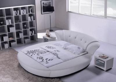 Круглая кровать - прихоть или оригинальность?