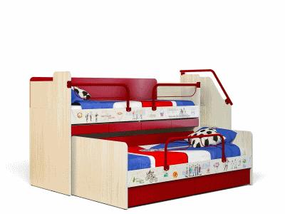 """Мебельная фабрика """"Сканд"""": кровати и гарнитуры для детских комнат"""