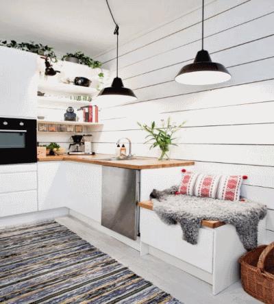 Главные преимущества небольшой кухни
