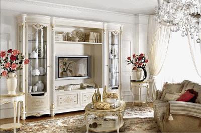 Обустройство гостиной с помощью итальянской мебели