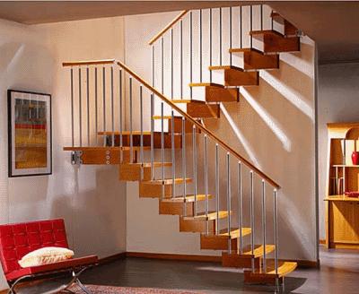 Про использование лестницы в городской квартире