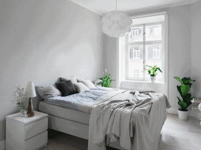Парочка советов для оформления небольшой спальной комнаты