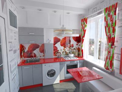 Дизайн маленькой кухни. Ценные советы.