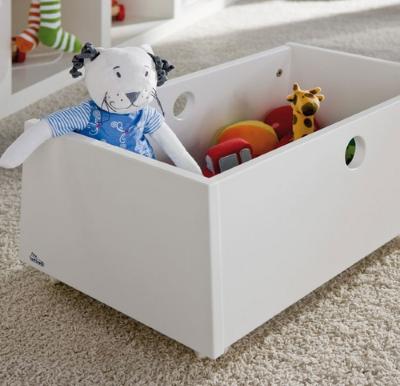Польза качественного ящичка для игрушек в детскую