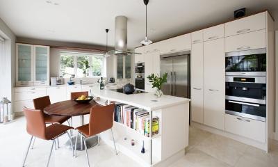 Кухня – эргономика кухонной столешницы
