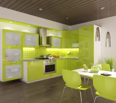 Угловая кухня – классическая мебель для дома