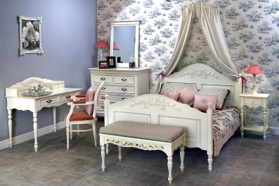 Популярные варианты прикроватной мебели