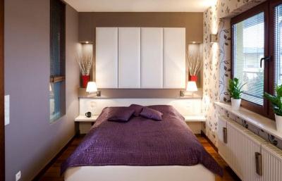 Парочка советов для оформления небольшой спальни
