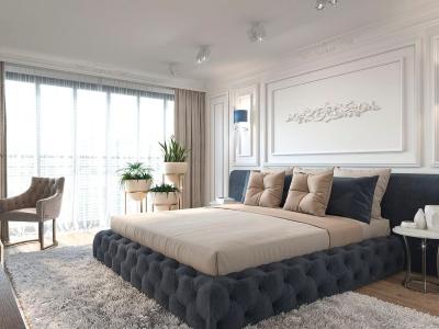 Основы выбора кровати и шкафа для спальной комнаты