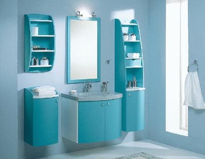 Главные особенности подбора мебели для ванной комнаты