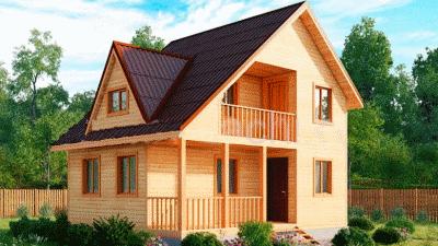 Каркасный дом под ключ - вот, что позволит Вам стать владельцем качественного жилья