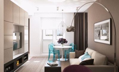 Советы по обустройству стандартной гостиной в квартире