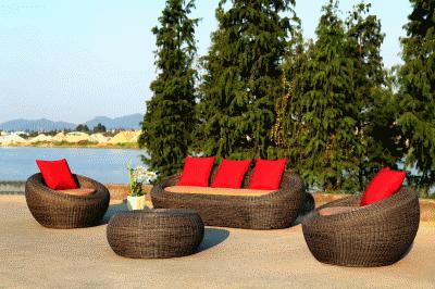 Использование ротанговой мебели в интерьере