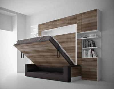 Качественная мебель трансформер в современном интерьере