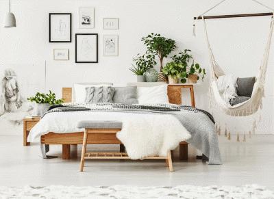 Несколько идей использования меха в дизайне интерьера