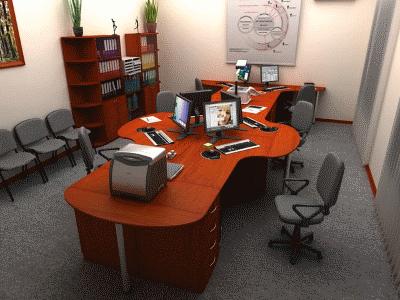 Плюсы простой и практичной офисной мебели для персонала
