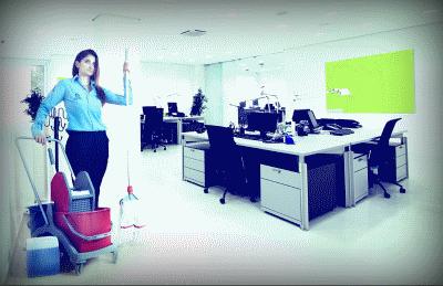 О профессиональной уборке офисов и помещений