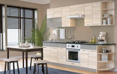 О реальных преимущества и недостатках модульных кухонь